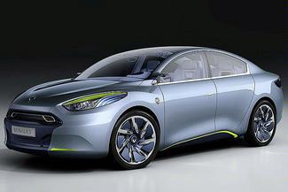 Renault concept car électrique salon de Francfort 2009