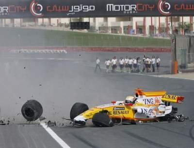 Renault faux accident grand prix Singapour