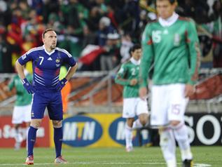 La france limin e de la coupe du monde 2010 le blog de - Coupe du monde 2010 france ...